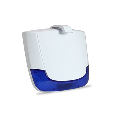 E.B.T.C. - Risco bidirectionele draadloze buitensirene blauw