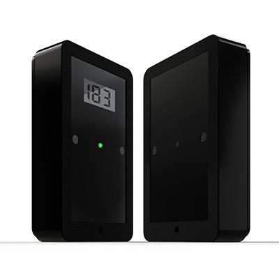 E.B.T.C. - Klantenteller display bidirectioneel