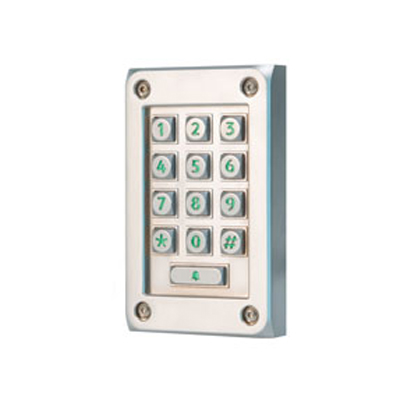 Paxton Vandaalbestendig metalen keypad