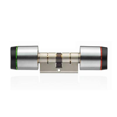XS4 GEO Europese profielcilinder met dubbele knop (GxE)